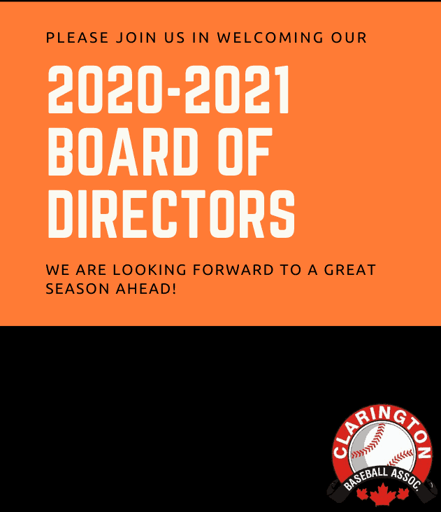 2020/2021 CBA Board of Directors