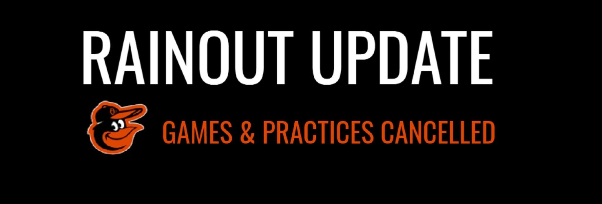 You are currently viewing Rainout update – July 20, 2021